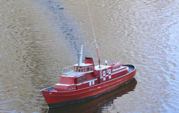 Požární loď Veverka