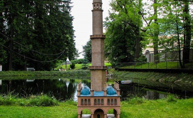 Minaret v Lednici_2