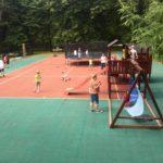 Dětské hřiště v parku Boheminium
