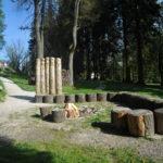Ohniště v Parku Boheminium