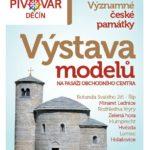 Výstava modelů z parku Boheminium v Děčíně
