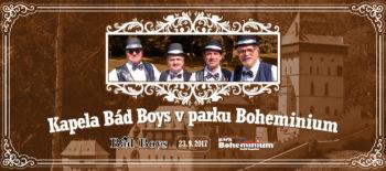 Kapela Bád Boys v parku Boheminium