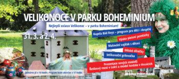 Velikonoce v parku Boheminium