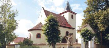 Nový model kostela sv. Václava v Hrusicích