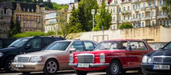 26/05 5. sraz Merecedes-Benz Tachov v parku Boheminium